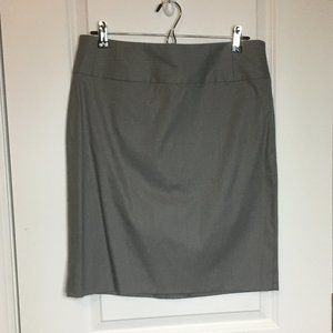 Banana Republic Factory Gray Mini Skirt Size 8